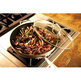 """All-Clad Ha1™ 12"""" Non-Stick Frying Pan with Lid"""