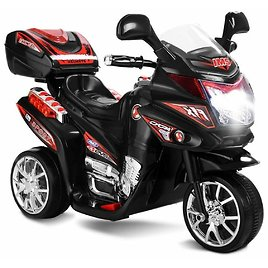 Electric 6V 3 Wheel Kids' Ride-On Motorcycle