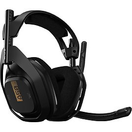 Astro Gaming A50 + Base Station RF Wireless Over-the-Ear Headphones for Xbox Series X|S, Xbox One, PC, and Mac Black 939-001680