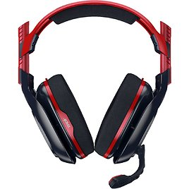 Astro Gaming A40 TR Wired Stereo Gaming Headset for Xbox Series X|S, Xbox One, PlayStation 5, PlayStation 4 Red/Black 939-001662