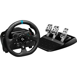 Logitech G923 Racing Wheel and Pedals for Xbox Series X|S, Xbox One and PC Black 941-000156