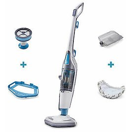 Black and Decker HEPA Corded Steam Mop and Vacuum Cleaner