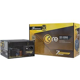 Seasonic CORE GX-650, 650W 80+ Gold Full-Modular, Fan Control in Silent and Cooling Mode, Perfect Power Supply for Gaming and Various Application, SSR-650LX - Newegg.com