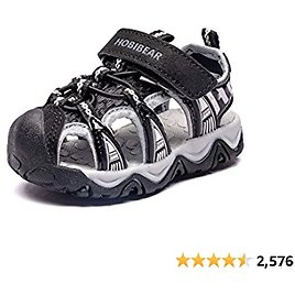 40%off + Free Shipping Amazon Unisex Kids/Toddlers Beach Sports Closed-Toe Sandals