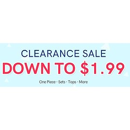 Clearance Sale Down To $1.99 - PatPat