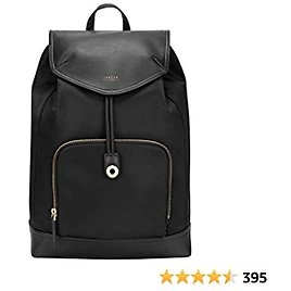 Targus Newport Drawstring Travel and Commute Backpack, Sleek Professional Design with Water-Repellent Nylon, Magnetic Secure Closure, Protective Sleeve Fits 15-Inch Laptop, Black (TSB964GL)