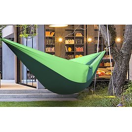 Zimtown Double Camping Hammock, Lightweight Portable Hammock - 2 Person Double Backpacking Hammock For Camping, Outdoor, Hiking,
