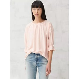 Womens Jacquard Boat Neck Top