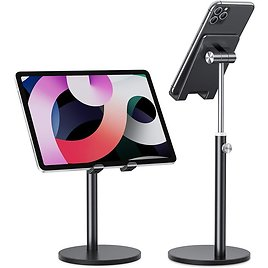 Universal Aluminum Adjustable Stand for Tablets & Phones