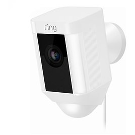 Ring Outdoor Camera & Spotlight Security Camera Wired - White