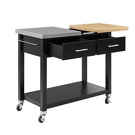 Better Homes & Gardens Maxwell Kitchen Cart, Multiple Finishes