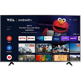 TCL 43-inch Class 4-Series 4K UHD HDR Smart Android TV - 43S434, 2021 Model
