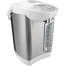 Rosewill Electric Hot Water Boiler and Warmer, 4.0 Liter Hot Water Dispenser, Stainless Steel / White, R-HAP-15002 - Newegg.com