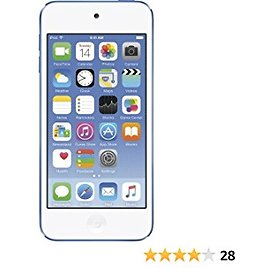 Apple IPod Touch 128GB Blue (6th Generation) MKWP2LL/A (Renewed)