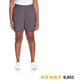 Just My Size Cotton Jersey Pull-On Shorts