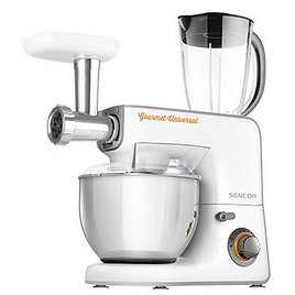 Sencor STM3700WH 5.8 Qt. Stand Mixer with 10 Accessories, White