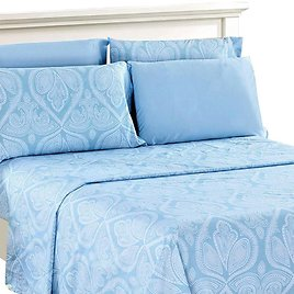 80% OFF! 6-Piece Set: Paisley Bed Sheets - Assorted Sizes