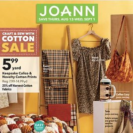 Joann's Weekly Ad + More