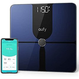 Eufy By Anker, Smart Scale P1 with Bluetooth, Body Fat Scale, Wireless Digital Bathroom Scale, 14 Measurements, Weight/Body Fat/