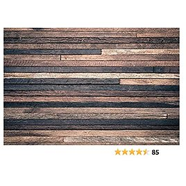 10x6.5 Ft Retro Wood Wall Photo Backgrounds Brown Wooden Photography Backdrops Wrinkle Free Seamless Cotton Cloth
