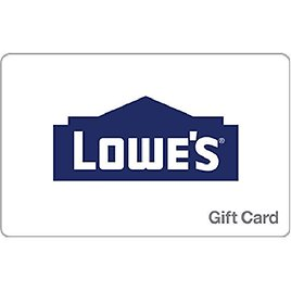 Lowe's $50 Gift Card (Email Delivery)