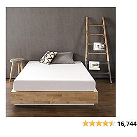 (15% OFF) 8 Inch Memory Foam Mattress, Calming Green Tea Infusion, Pressure Relieving, Bed-in-a-Box, CertiPUR-US Certified, Full