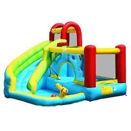 Inflatable Kids Water Slide Jumper Bounce House Without Blower