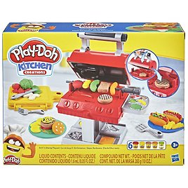 Play-Doh Kitchen Creations Grill 'n Stamp Playset, 10 Ounces Compound Total