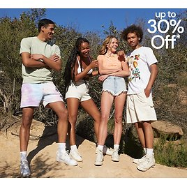 30% Off Sitewide LONG WKND DEAL + 2X Points - PacSun