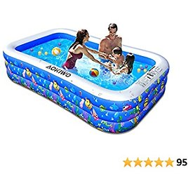 Full-Sized Inflatable Pool