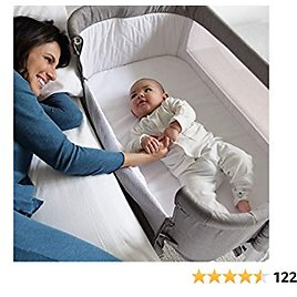 4in1 Bedside Bassinet for Baby Girl or Boy, Crib, Playpen Up to 12 Months By OPTIMISK