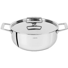 Cristel Castel'Pro 5-Ply Stewpots with Stainless Steel Lid