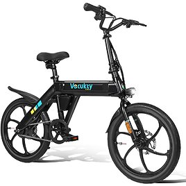 Electric Bike,Vecukty Electric Bicycle 250W Electric Bikes for Adults Teens