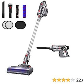 Kealive Cordless Vacuum Cleaner, 23000pa Stick Vacuum 4 in 1, Up to 70 Minutes Runtime, with Rechargeable Lithium-Ion Battery for Hard Floor Carpet Pet Hair