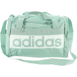 Adidas Court Lite Duffel Bag, Hazy Green/White, One Size: Sports & Outdoors
