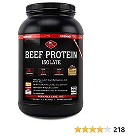 Olympian Labs PSN Protein Powder, Beef, 32 Ounce