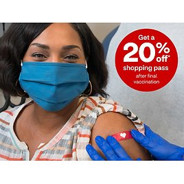 Get 20% Off Shopping Pass After Final Vaccination