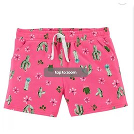 Cactus Pull-On Shorts