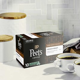 60-count Peet's Coffee French Roast K-Cup Pod
