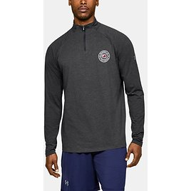 Mens Charged Cotton Collegiate ¼ Zip