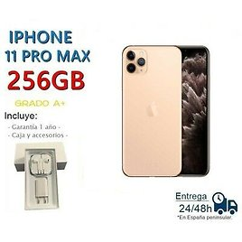 IPhone 11 Pro Max 256gb Gold Refurbished/Degree Box and Accessories
