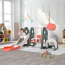 EUROCO 6 in 1 Toddle and Swing Set + F/S