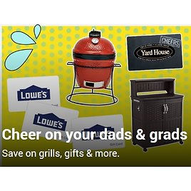 'Dads N Grads' Savings Event