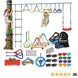Ninja Warrior Obstacle Course for Kids $109.99+Free Shipping.