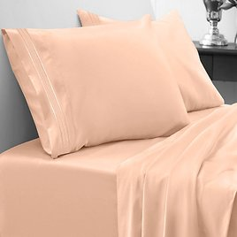 Sweet Home Collection 1800 Thread Count Egyptian Comfort 3 Piece Sheet Set