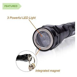 Crazy $4.99 Deal! - Magnetic 3 LED Flash Light 5 Pound Magnet Telescopic Flexible Neck Pick Up Tool - SEE THE VIDEO - $1.49 Shipping, But Order 3 or More and SHIPPING IS FREE! BONUS: Grab Your Phone and Txt The Word SECRET to 88108 for Access To...