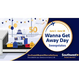 50th Anniversary Sweepstakes