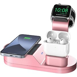 Wireless Charging Station Compatible with IWatch Stand IWatch Series