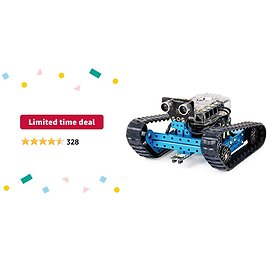 Limited-time Deal: Makeblock MBot Ranger 3-in-1 Robot Kit, Metal Materials with Powerful Mega2560, Scratch and Arduino C Programming, APP Control, Advanced Robot Kits, Build Robot for Kids 10+