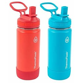 2-Pack ThermoFlask 16-Oz Water Bottle (2 Colors)